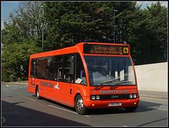 CN04 HOL, Bradshaw Street (Jason 87030) Tags: red countrylion optare solo 6 lumbertubs northgate bus station northampton town northants northamptonshire 2017 september