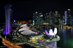 Marina Bay Sands 2 (vic_206) Tags: singapur night noche nocturna luces lights