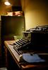Bletchley Park (jonbawden50) Tags: bletchley park alan turing desk vintage old typewriter dof fuji light