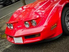 Corvette C3 (kity54) Tags: corvettec3 auto automobile voiture véhicule car cars old older americain rouge red cvgjuin2012