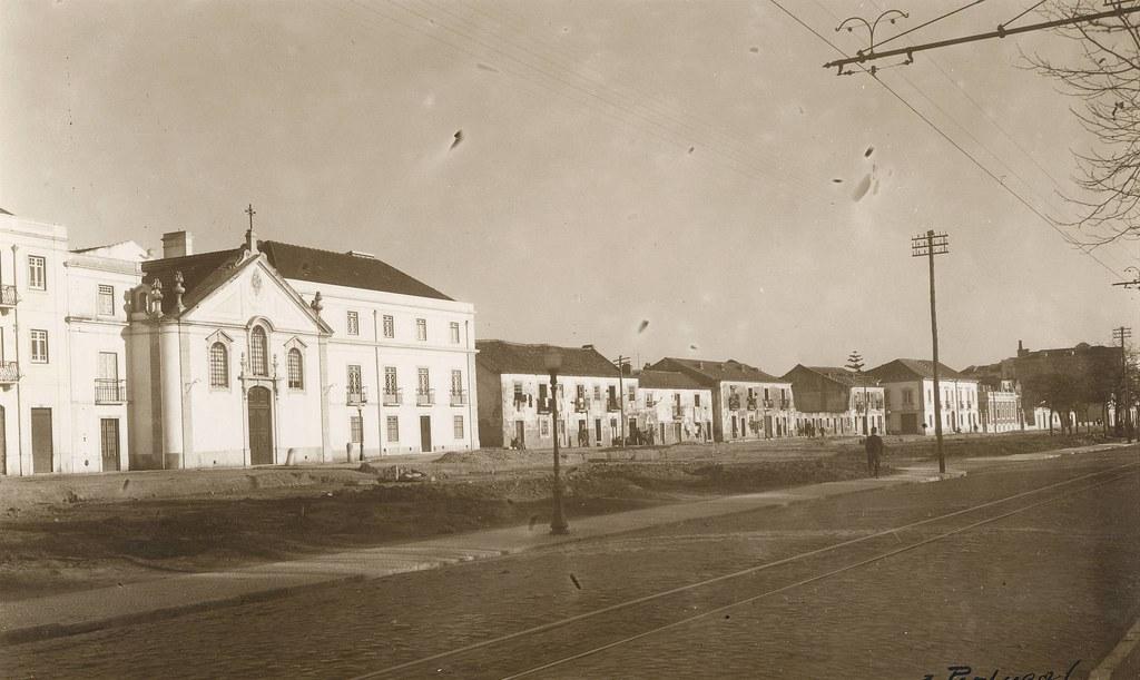 Campo Grande, Lisboa (E. portugal, 1941)