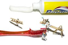 Higiene dental (sairacaz) Tags: dental hygiene higiene canon tamronaf90mmf28spdimacro macro 90mm miniaturas miniatures vigo galicia