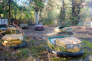 The amusement park of Pripyat