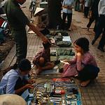 Saigon 1969 - Street Vendors Selling Goods thumbnail