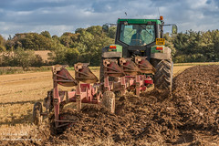 Ploughing at Wycliffe 2017 (2) Explored 7 Oct 2017 (Richard Laidler) Tags: arable autumn autumncolour autumncolours autumntints clouds darksky fall farm farming fields furrow furrows johndeere lowerteesdale machinery northeastengland plough ploughing soil stubble sun sunny sunshine teesdale tractor weather wycliffe