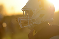 Sunset @ game time (AppStateJay) Tags: nikon d7100 tamron70200mmf28dildifmacro tamron70200mmf28 tjca thomasjeffersonclassicalacademy rutherfordcounty nc northcarolina football season gryphons 2017 highschool athlete athletics