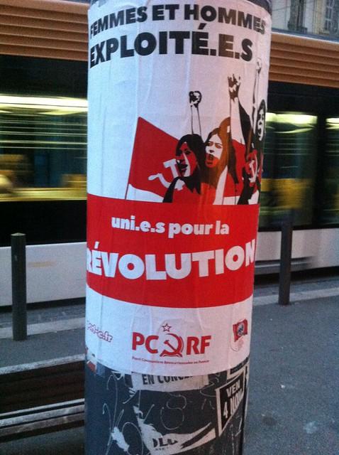 femmes et hommes exploitees, uni.e.s pour la révolution