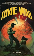 Dell Books 8625 - Lin Carter - Time War (swallace99) Tags: dell vintage 70s sf scifi sciencefiction paperback frankfrazetta callipygian