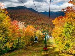 NH Gondola ((Jessica)) Tags: gondola loonmountain newhampshire lincolnnh colorful autumn fallfoliage seasonal foliage seasons season fall leaves newengland