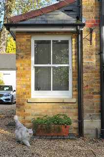External Timber Sash Window