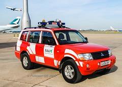 BAA Mitsubishi Shogun GU06 BXF (policest1100) Tags: baa mitsubishi shogun gu06 bxf