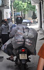 Not much room (Roving I) Tags: noroom squeeze loads alleyways motorbikes transport logistics tight danang vertical vietnam
