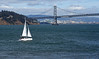 San Francisco California USA (Jeffrey Neihart) Tags: jeffreyneihart nikon1680284 nikond7200 oaklandbaybridge baybridge sailboat yacht