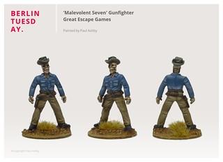 'Malevolent Seven' Gunfighter / Dead Man's Hand / Great Escape Games