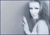 (Cliff Michaels) Tags: nikon photoshop pse9 face woman headshort portrait monochrome