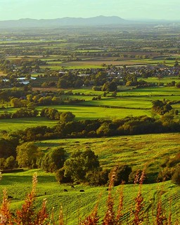 View of Gloucestershire from Crickley Hill.