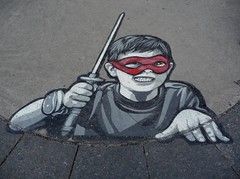 Montreal 2017 (bella.m) Tags: graffiti streetart urbanart montreal canada art joelurato kids play