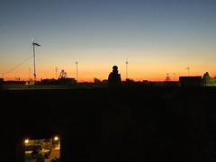 Nobody on terrace tonight ... (Thierry GASSELIN) Tags: nuit terrasse coucherdesoleil silhouette