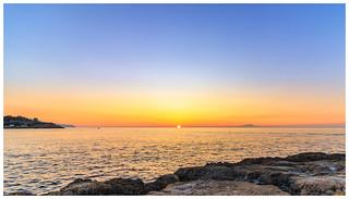 Punta Del Capo sunset