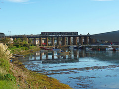 150232 Hayle Viaduct (Marky7890) Tags: gwr class150 sprinter 2m88 hayle railway cornwall cornishmainline train 150232