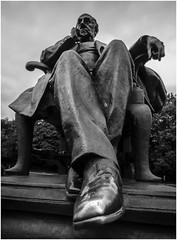 Francis Sharp Powell statue, Mesnes Park, Wigan Wigan (Pitheadgear) Tags: wigan mesnespark statue statues publicart bronze sculpture francissharppowell mp conservative minister memberofparliament
