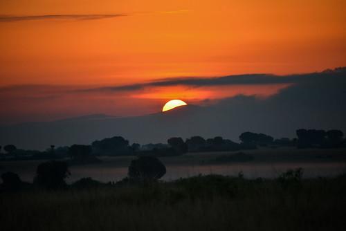 White Nile Sunset