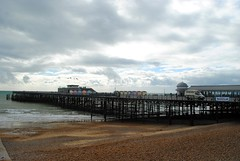 Hastings Pier (zawtowers) Tags: hastings east sussex seaside town resort historic 1066 centre saturday 30th september 2017 warm sunny sunshine hastingspier pier iconic landmark pieroftheyear2017 award winner built 1872 reopened 2016 deck viewing area pavilion beach hut shops retail