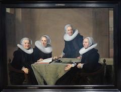 J.C. VERSPRONCK - LAS REGENTES DEL HOSPITAL DE SANTA ISABEL - HAARLEM (mflinera) Tags: jcverspronck pintura haarlem holanda arte museo frans hals