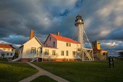 Whitefish Point Light Station - Lake Superior (TAC.Photography) Tags: lighthouse michigan station sunrise light golden upperpeninsula tacphotography tomclark tomclarkphotographycom d7100 superior lakesuperior