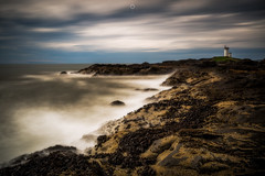 Watching Over Waters (Augmented Reality Images (Getty Contributor)) Tags: longexposure bigstopper coastline landscape leefilters scotland elie water firthofforth waves seascape canon colours clouds rocks saintmonans unitedkingdom gb