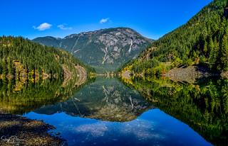 Reflections - Diablo Lake (Explored)