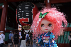 Scarlett at Asakusa