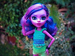 (Linayum) Tags: kjerstitrollson mh monsterhigh monster mattel doll dolls muñeca muñecas toys toy juguetes ganchillo crochet handmade linayum