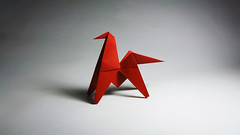 Traditional Origami Horse (Origami.me) Tags: origami papercraft papercrafts paper craft crafts diy traditional fold folding horse