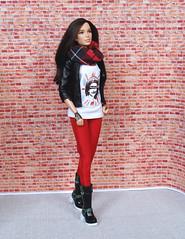 God save the Queen! (FreeRangeBarbie) Tags: punk wonderwoman barbie collector london sexpistols outfit