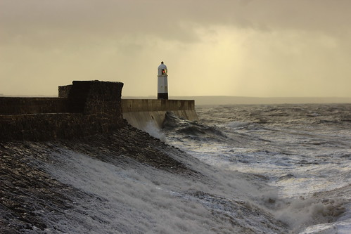 Porthcawl Storm Brian 079