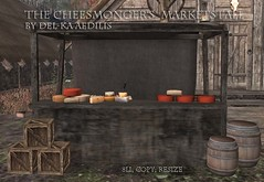 Cheesemonger's Marketstall @Redeux (nea.narstrom) Tags: delkaaedilis sales redeux medieval vikings north norse rustic market autumn