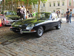 Jaguar E-Type Series 1 HWK473D (Andrew 2.8i) Tags: queen queens square bristol breakfast club show meet classic car cars classics avenue drivers vehicle british coupe sports sportscar s1 1 etype series jag jaguar type e