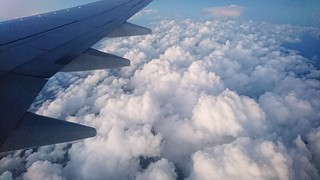 Aerial View Cloud - Sky Business Finance And Industry Airplane High Angle View Sky Flying Blue Aircraft Wing No People Outdoors Plane Day City Technology Nature