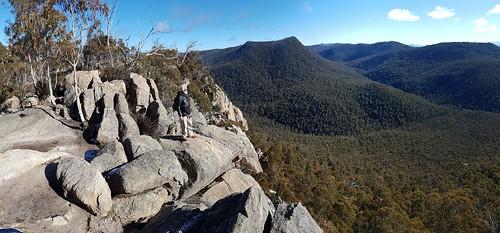 Bill Steele at Booroomba Rocks