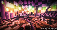 Chess  Wonderland (5) (Poppys_Second_Life) Tags: 2l chess chesswonderland picsbyⓟⓞⓟⓟⓨ popi popisadventuresin2l popikone popikonesadventuresin2l poppy sl secondlife virtualphotography chequered