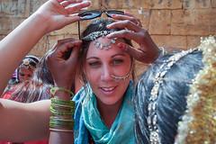 Rajasthan - Jaisalmer - Jewellry seller-2