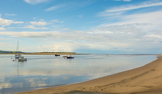 A Peaceful And Tranquil Morning At Aberdovey
