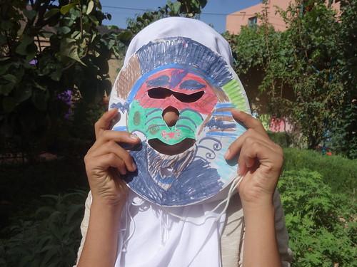 """Un masque : """" Bilmawn"""" (2)"""