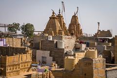 Rajasthan - Jaisalmer - Roof top restaurant-5