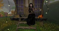Gypsy Magic (Veruca.Beck) Tags: gypsy madpea wagon traveller magic blackmagic fortuneteller reader seer boho dark women power charmed ultrarare halloween pumpkin