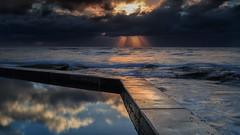 South Curl Curl Sunrise 4 (RoosterMan64) Tags: australia landscape longexposure nsw northernbeaches rockshelf seascape southcurlcurl sunrise