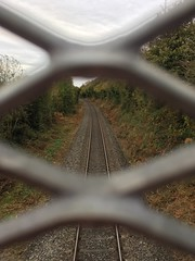 (staceygallagher2) Tags: journey track traintrack train railway travel nature scenic autumn ireland photography leadinglines lines line leading