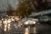 293/365 - Raincouver (Jacqueline Sinclair) Tags: blur rain vancouver granville island car cars traffic light lights headlights dots vehicles fall winter raining window drive bokeh abstract
