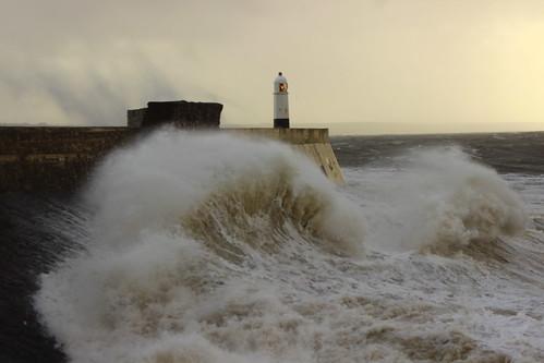 Porthcawl Storm Brian 092